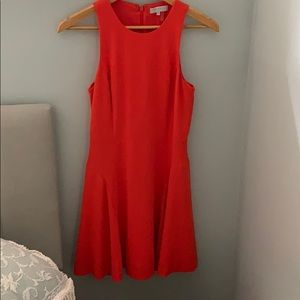 1. State Nordstrom Orange A Line Skater Dress